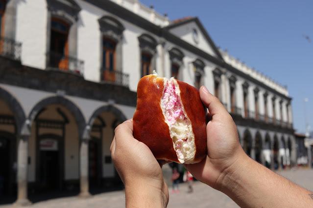 El tradicional pan de Zacatlán