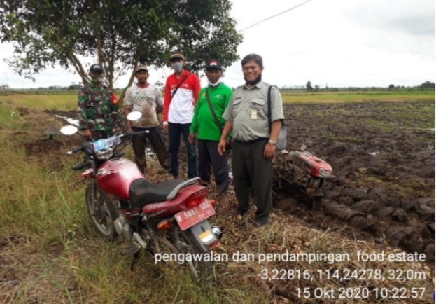 Food Estate Bataguh, Siap Tanam 5.300 Hektare