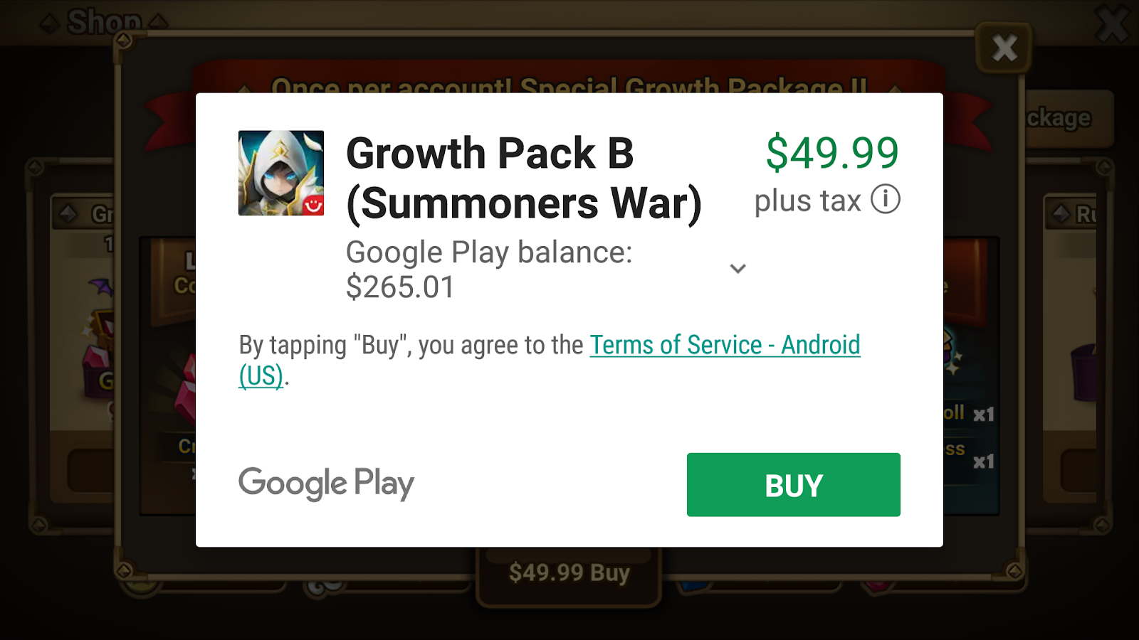 Google Play In-App Purchases
