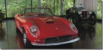 Ferrari 250 GT California Spyder SWB La folle journée de Ferris Bueller
