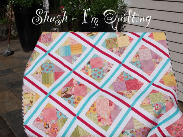 Quilt Story Lattice Quilt From Shush I M Quilting
