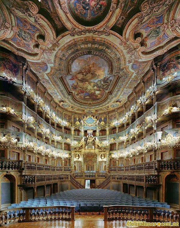 Маркграфський оперний театр, Байройт, Німеччина.