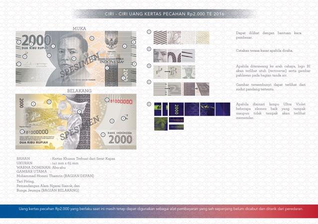 uang NKRI baru Rp2000