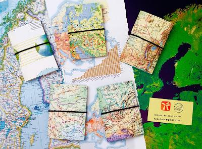 sèrie de llibretes a mà Atlas