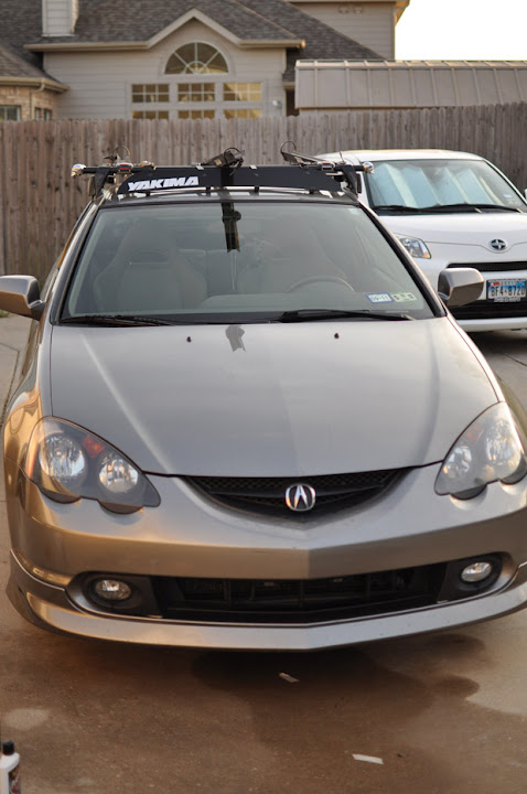 Complete Yakima Roof Rack For RSX Club RSX Message Board - Acura rsx roof rack