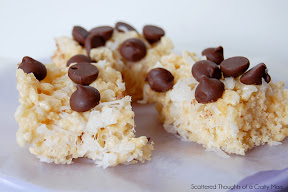 Chocolate, Coconut and Almond Rice Krispies