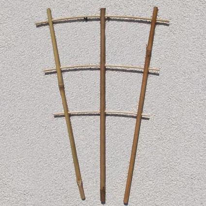 Лесенки бамбуковые на 3 опоры