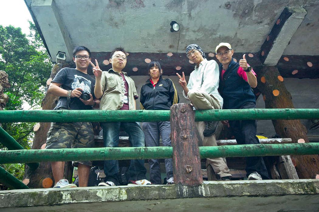 2011/10/22☺十分非常硬散步團☺