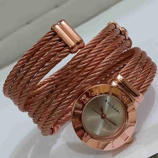 jam tangan Bvlgari lilit Rosegold