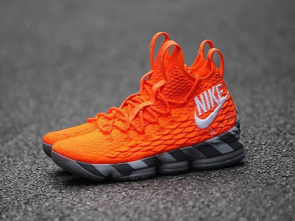 Nikes First Orange Box Inspires the Latest Nike LeBron Watch 15s