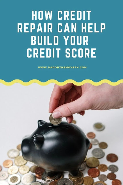 Build credit score through credit repair