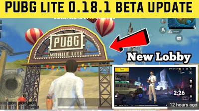 PUBG Mobile Lite Beta 0.18.1 version APK download