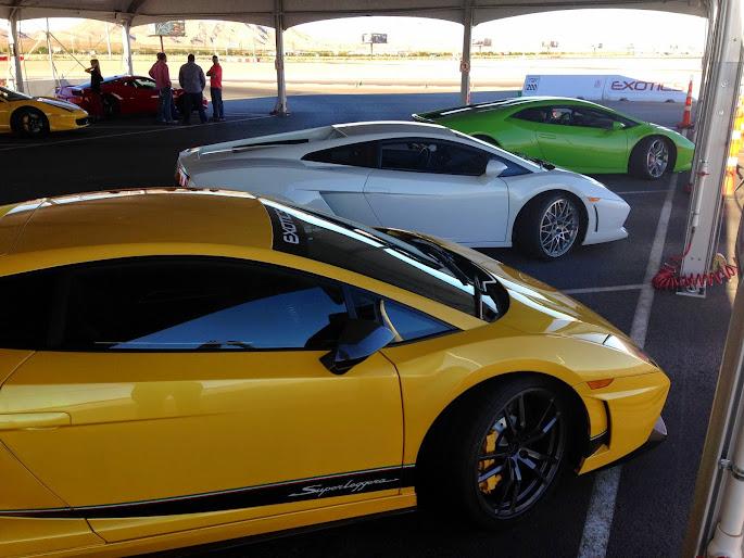 Exotics Racing Experience At Las Vegas Motor Speedway