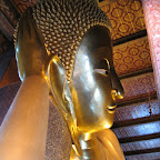 Grote liggende buddha