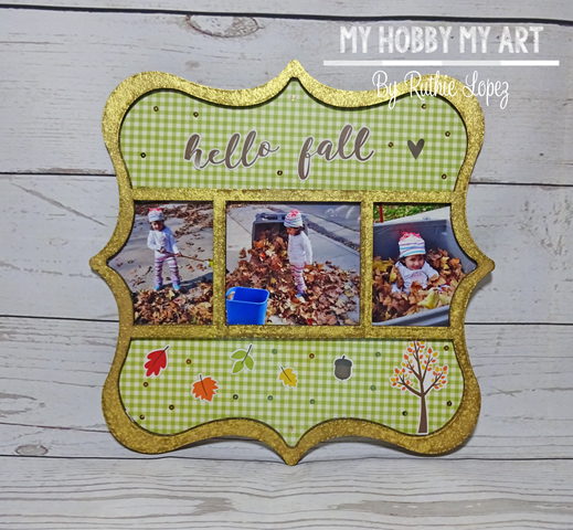 Clear Scraps Kits, Deco Printer Tray Frame, Ruthie Lopez