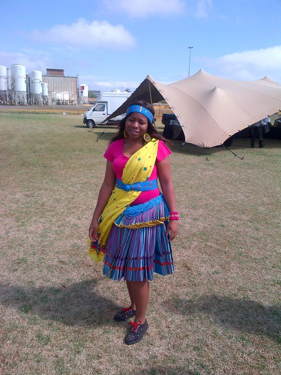 Shangaan Traditional Dresses Clothes