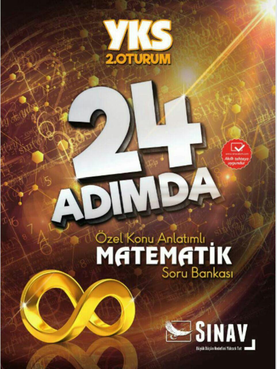 Sınav Yayınları 24 Adımda AYT Matematik