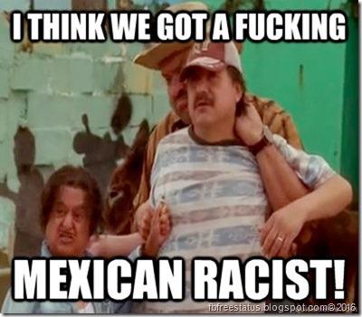 Aaron Mexican Racist meme