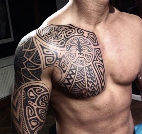 tribal_tatuagem_no_peito