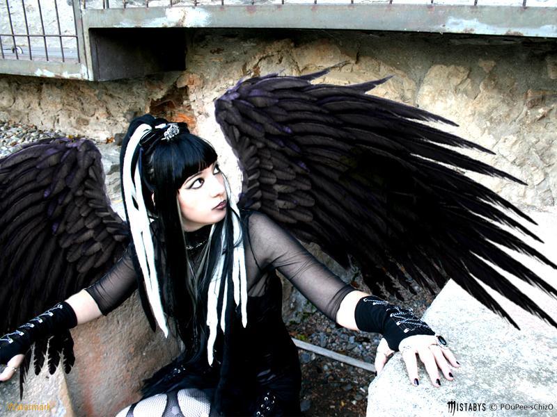 The Dark Gothic Angel Girl, Gothic Girls