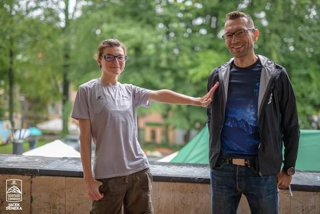 Rozmowa z Angeliką Szczepaniak przed jej biegiem o rekord kobiecy GSB!
