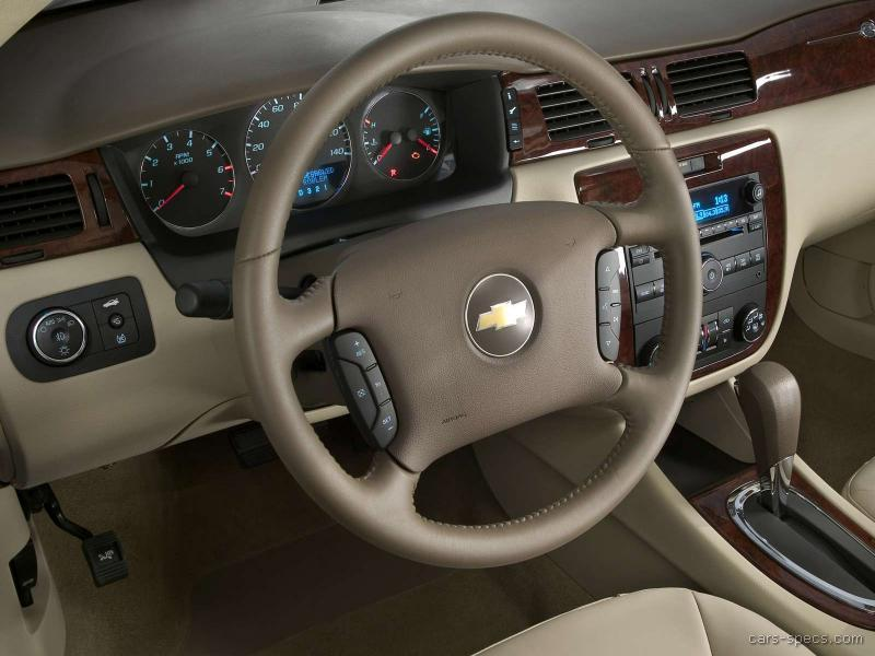 2011 Chevrolet Impala Sedan Specifications Pictures Prices