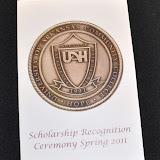Scholarship Ceremony Spring 2011