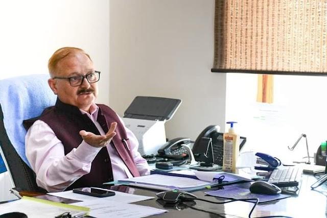 Financial Commissioner Reviews implementation of National Land Records Modernization Programme in Ladakh