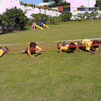 Crawling under the Spider web activity done by (JR.KG 2013-14)
