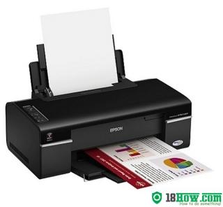 How to Reset Epson B40W laser printer – Reset flashing lights error