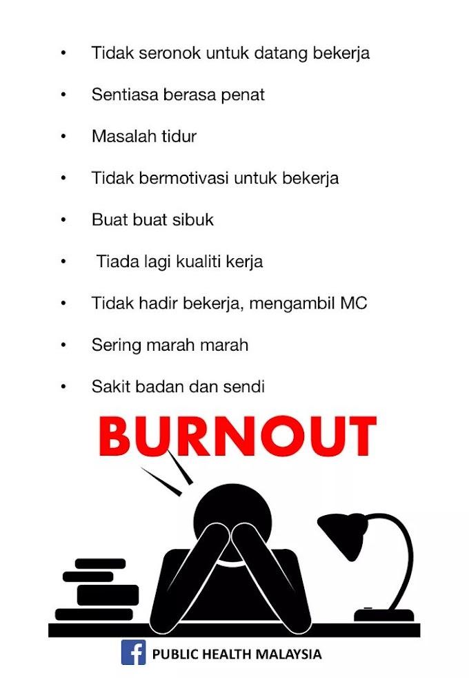 Ambil Cuti Segera Jika Anda Terkena 9 Tanda Burnout Ini