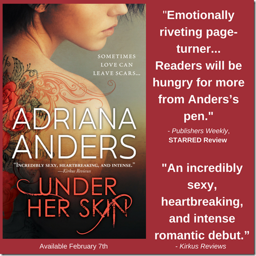 """-An incredibly sexy, heartbreaking, and intense romantic debut."""""""
