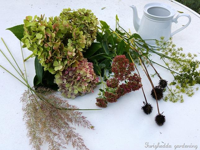hydrangea bouquet 1