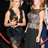 OIC - ENTSIMAGES.COM - Zoe Hardman and Natalie Pinkham at the  the BT Sport Industry Awards at Battersea Evolution, Battersea Park  in London 30th April 2015  Photo Mobis Photos/OIC 0203 174 1069