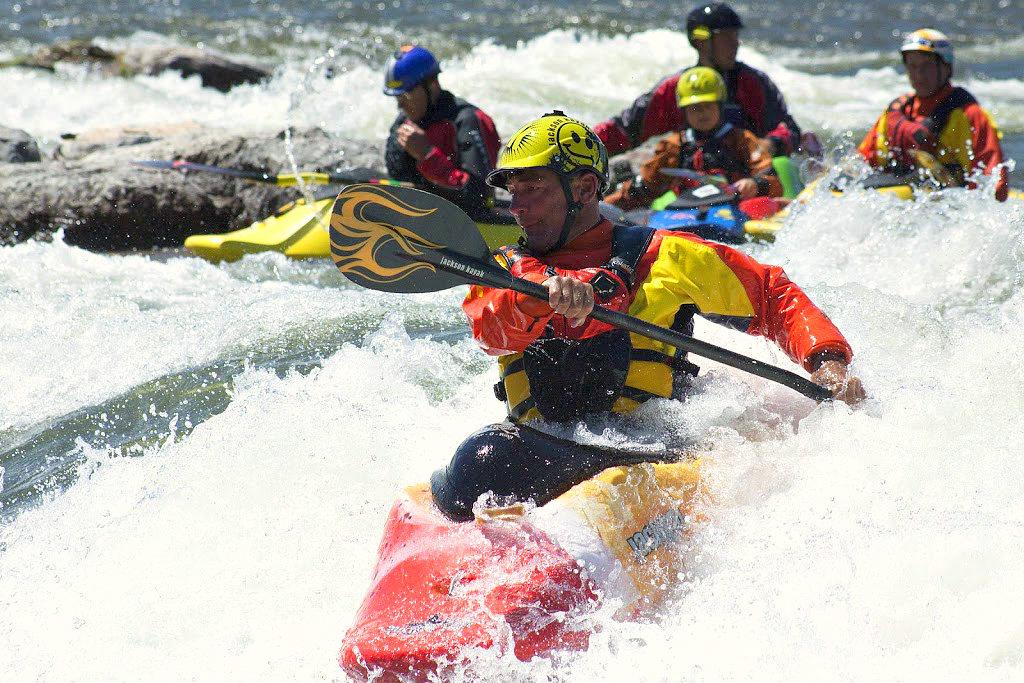 Brenan's Wave. Kayaking Championship. Photo by Patrick Record.