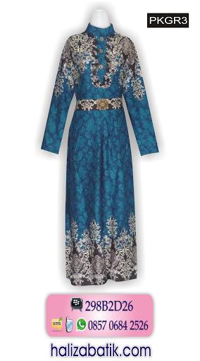 baju batik 2015, batik online shop, gamis batik terbaru