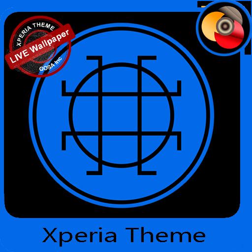 Black & Blue | Xperia™ Theme