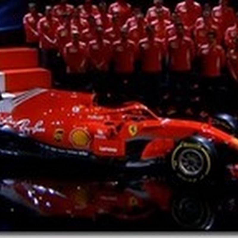 La Ferrari presenta la SF71H
