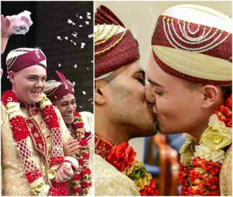 Pics: First ever gay Muslim wedding