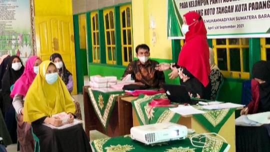 Tim PPM UM Sumbar Sosialisasi Air Bersih di Panti Asuhan Aisyiyah Koto Tangah