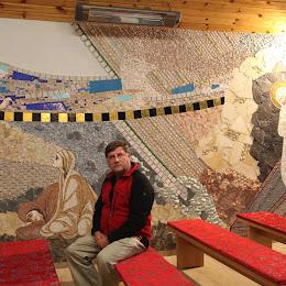 Mozaiki o. Kamila Draba redemptorysty ze Słowacji