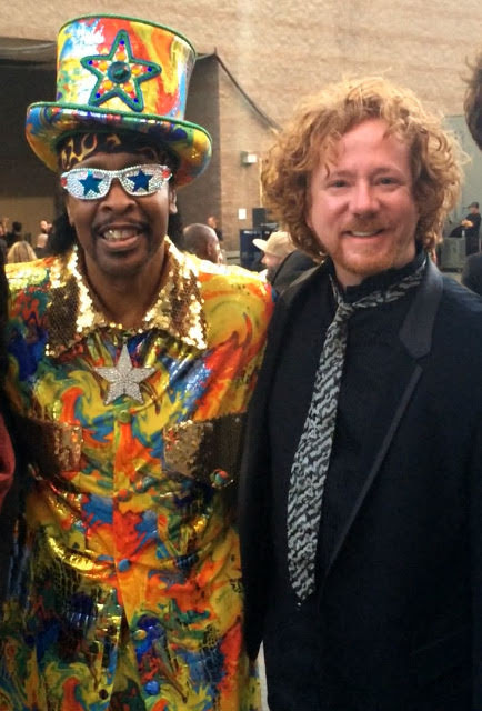 Bootsy!  photo credit Billy Ray Cyrus