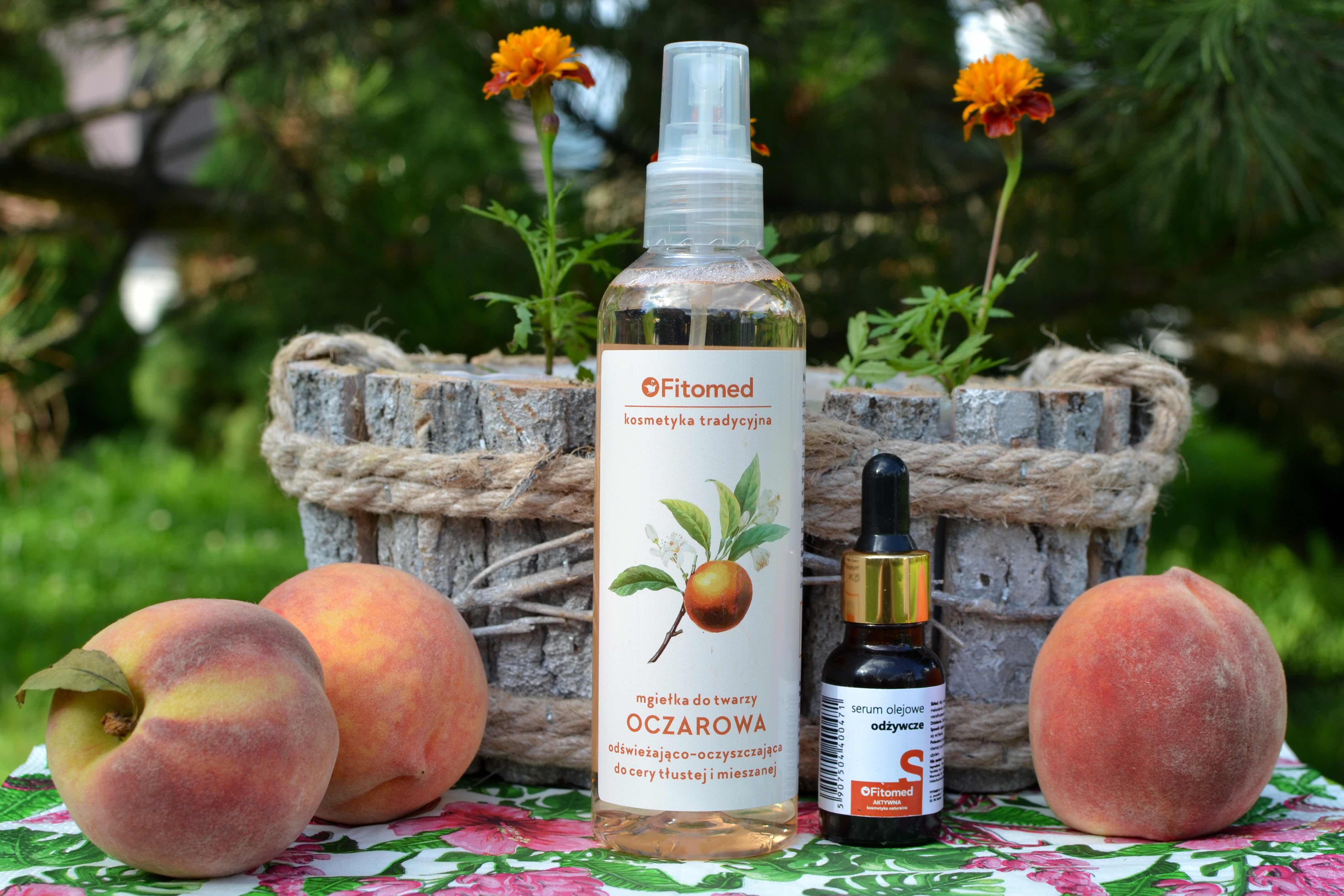 Recenzja kosmetyków FITOMED - mgiełka do twarzy & serum olejowe