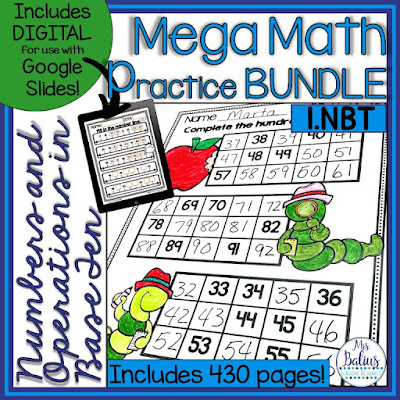 This mega bundle includes all of the standards for the entire first grade year. Grab this fun and engaging activities.
