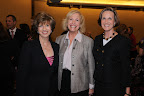 Sharon Herrin; Kay Marsh Green, CFRE; and Cathy Packard