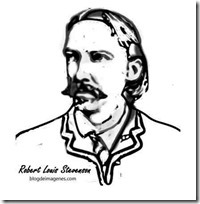 Robert-Louis-Stevenson colorear 1