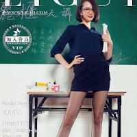 LiGui 2015.09.09 网络丽人 Model AMY [58P] cover.jpg