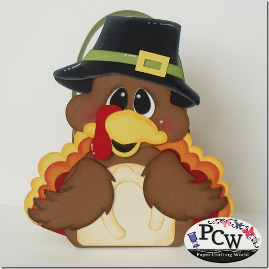 SVG Cut File Turkey Treat Box