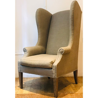 Lillian August High Wing-Back Chair #2