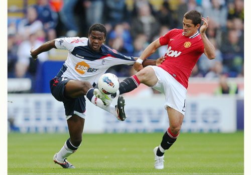 Javier Hernandez, Bolton - Manchester United